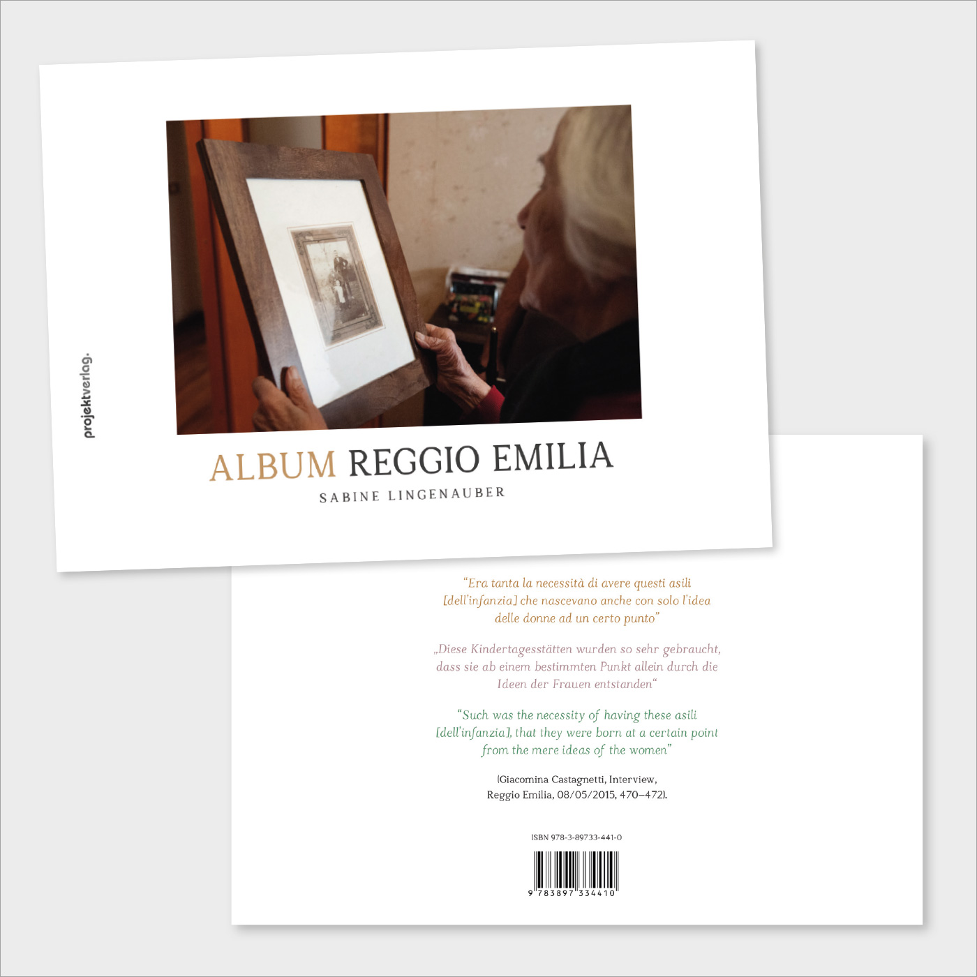 Reggio Emilia Research: Publikationen